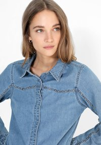 Scalpers - Button-down blouse - blue - 2