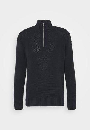 JAYDEN - Stickad tröja - navy