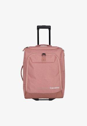 Wheeled suitcase - rose