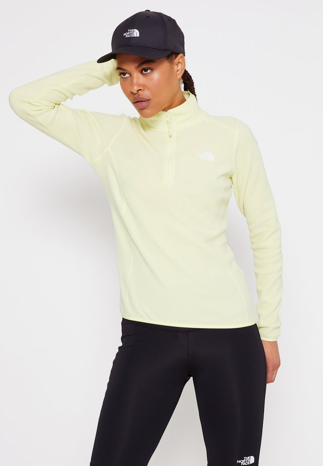 GLACIER ZIP MONTEREY - Fleece jumper - pale lime