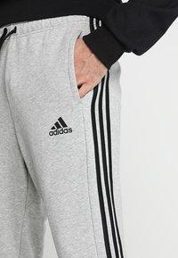 adidas Performance - MUST HAVES SPORT TIRO SLIM FIT PANT - Verryttelyhousut - medium grey heather/black - 3