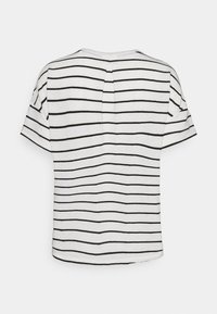 Opus - SILEIKA - Print T-shirt - white/black - 1