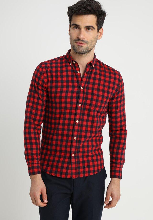 JOHAN CHECK - Camisa - red