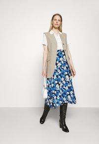 Marks & Spencer London - SKIRT - Áčková sukně - blue - 1