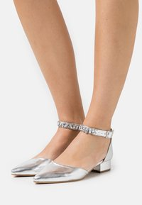 Dorothy Perkins - PELICANBLING ANKLE STRAP  - Classic heels - silver - 0