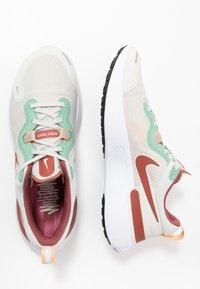 Nike Performance - REACT MILER - Neutral running shoes - light bone/claystone red/healing jade - 1