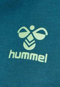 Hummel - Hoodie - blue coral/green ash - 3