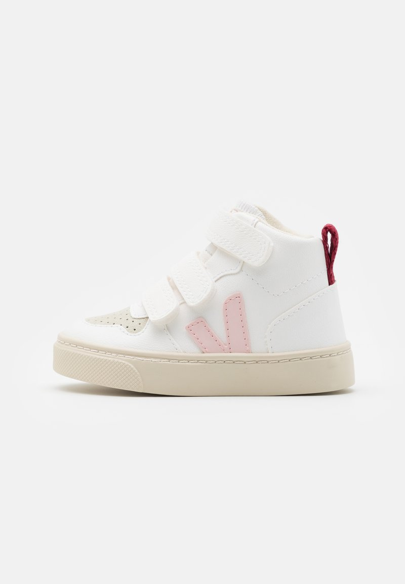 Veja - SMALL MID - High-top trainers - white petale/marsala