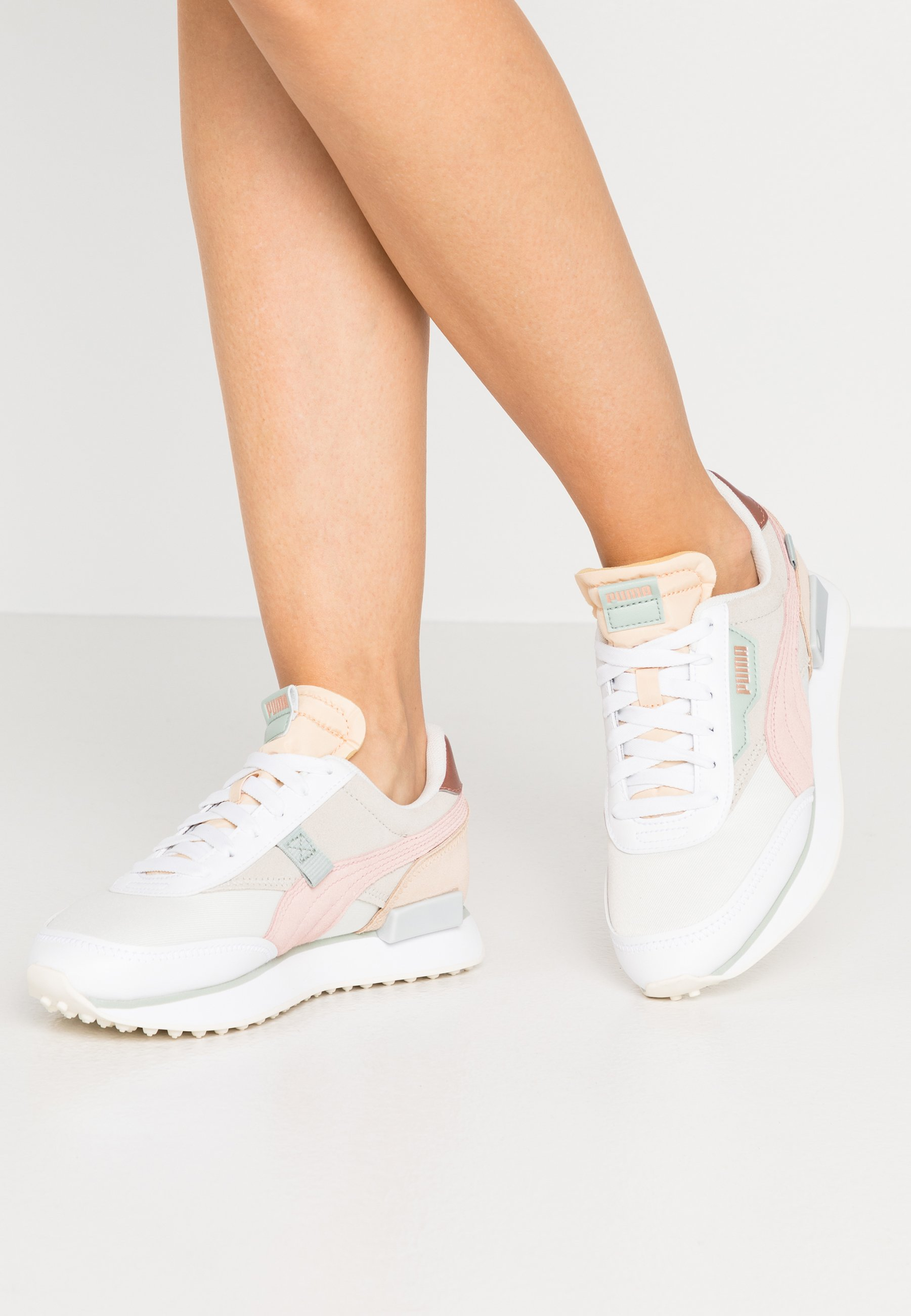 Women FUTURE RIDER SOFT METAL - Trainers - marshmallow/natural