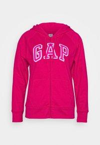 GAP - Zip-up hoodie - lipstick pink - 0