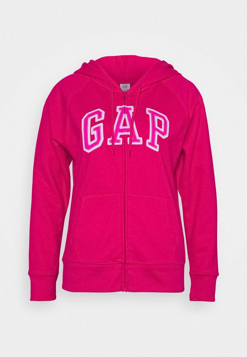 GAP - Zip-up hoodie - lipstick pink