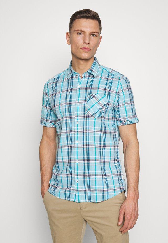 KURZARM - Shirt - turquoise