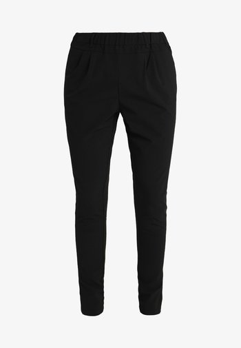 JILLIAN PANTS - Trousers - black deep
