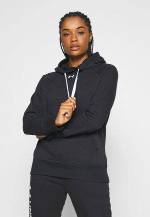 RIVAL HOODIE - Jersey con capucha - black