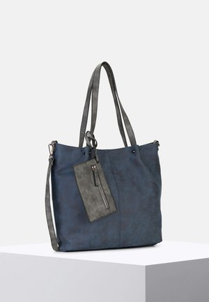 SURPRISE - Tote bag - blue grey 508