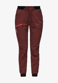 Haglöfs - L.I.M FUSE PANT WOMAN - Outdoor trousers - maroon red - 4