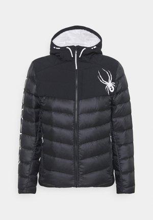 TIMELESS HOODIE  - Snowboard jacket - black