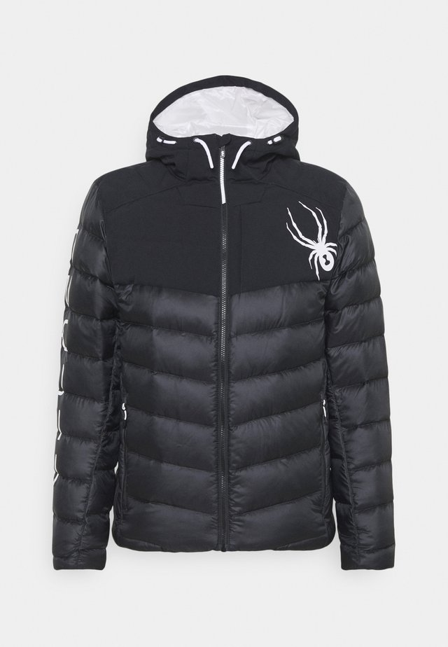 TIMELESS HOODIE  - Snowboardová bunda - black