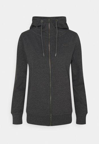 ANNE - Zip-up hoodie - charcoal