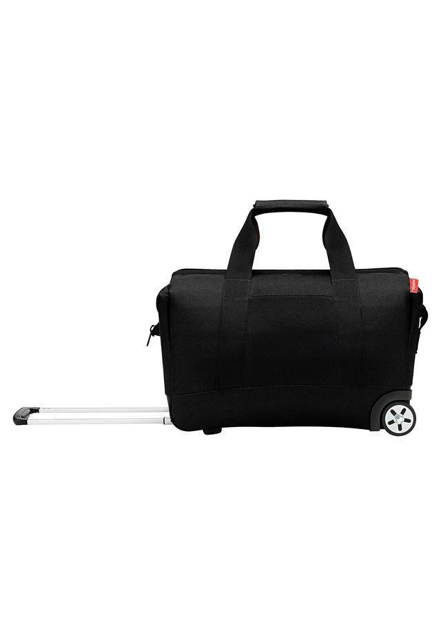 Wheeled suitcase - black [7003]
