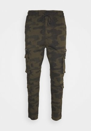 ASKERN - Cargo trousers - khaki