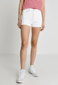 Levi's® - 501 HIGH RISE - Denim shorts - in the clouds - 0