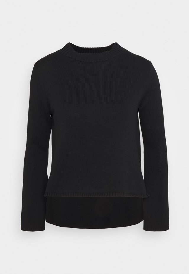 BELL SLEEVE - Maglione - black