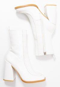 Koi Footwear - VEGAN  - Ankelboots med høye hæler - white - 3