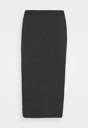 VICOMFY - Pencil skirt - dark grey melange