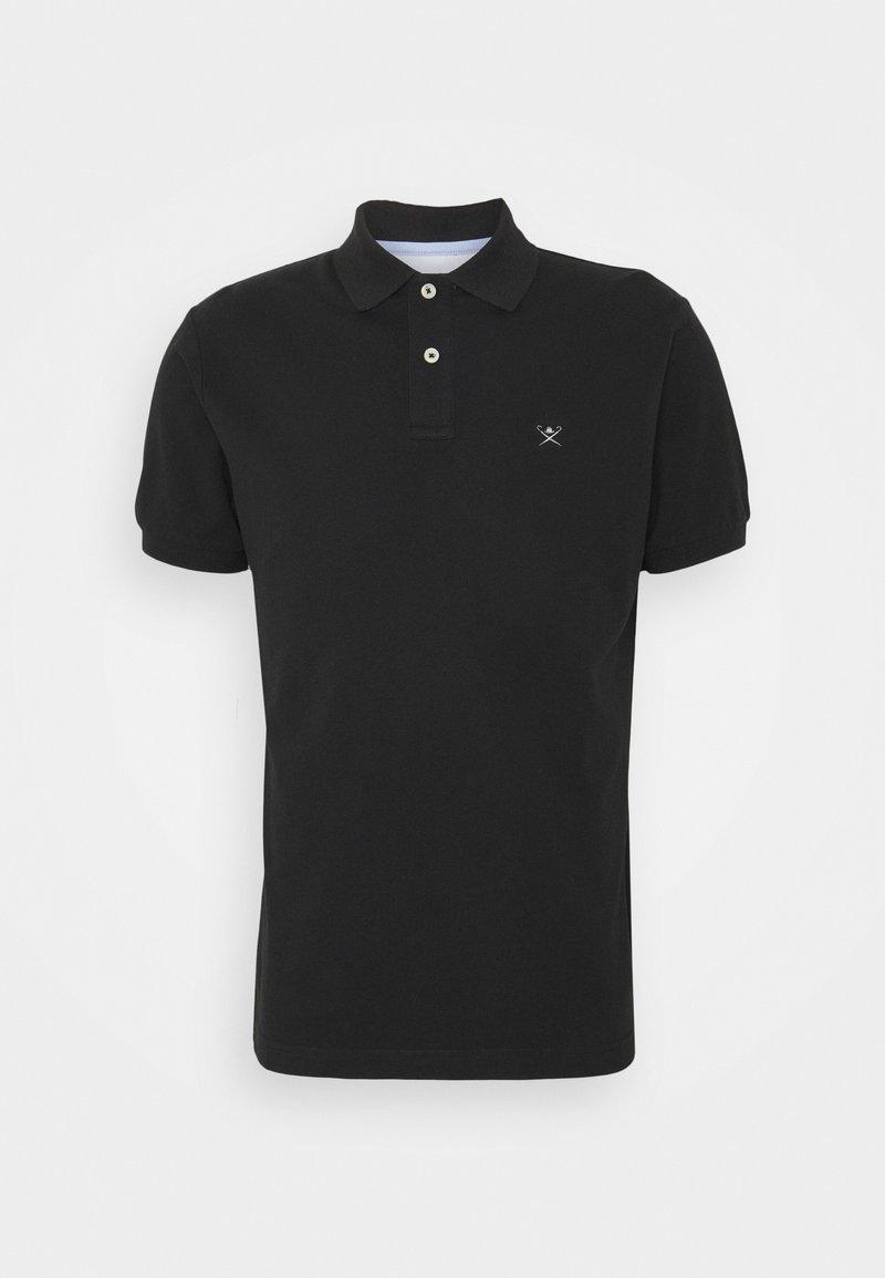 Hackett London - SLIM FIT LOGO - Polo - black/grey