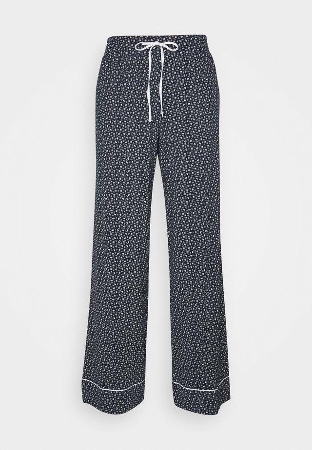 PIPING - Pantaloni del pigiama - navy ditsy floral