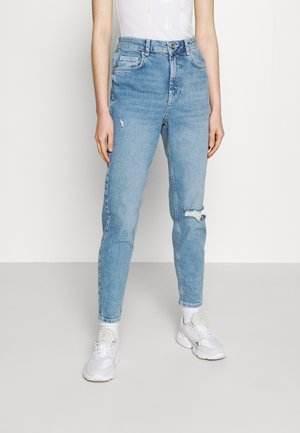 PCLEAH MOM - Džíny Relaxed Fit - light blue denim