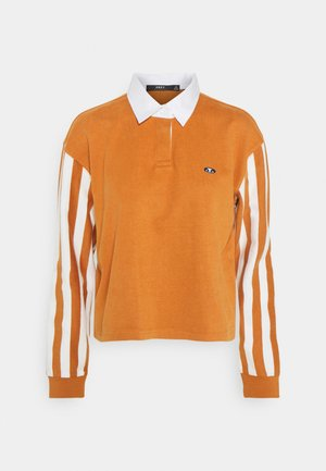 RENEE RUGBY - Polo shirt - adobe