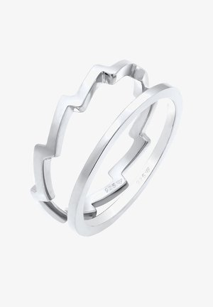SET - Bague - silver-coloured