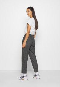 Monki - TARJA TROUSERS - Trousers - grey - 2