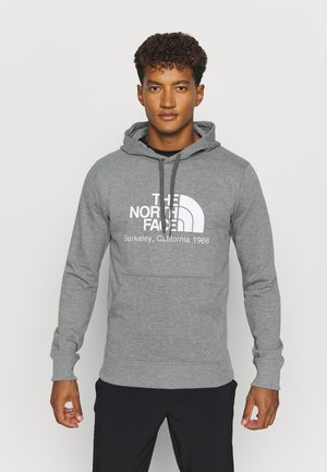 BERKELEY CALIFORNIA HOODIE - Felpa - medium grey heather