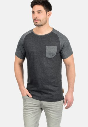 GRESHAM - Print T-shirt - charcoal