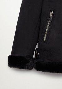 Mango - PINK - Zimní bunda - black - 2