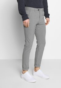 Jack & Jones - JJIMARCO JJCONNOR  - Bukser - grey melange - 0