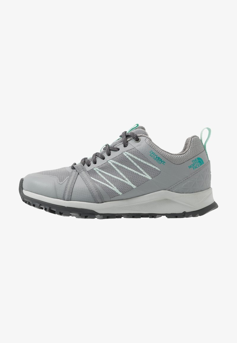 The North Face - W LITEWAVE FASTPACK II WP - Trainers - griffin grey/dark shadow grey