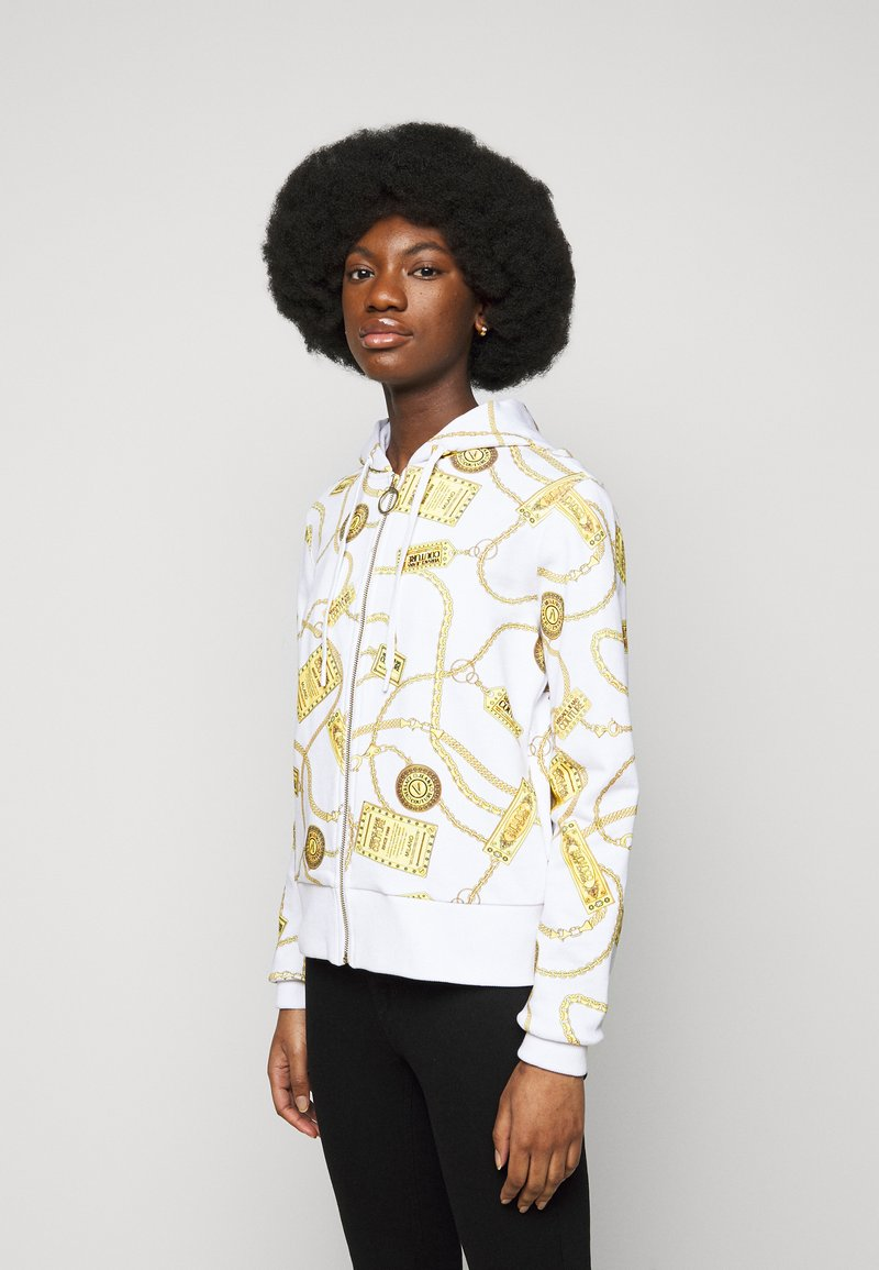 Versace Jeans Couture - Mikina na zip - white
