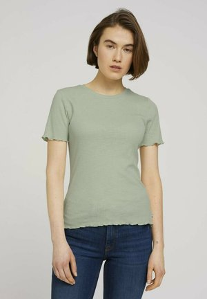 SLUB TEE - Basic T-shirt - light dusty green