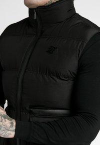 SIKSILK - GILET - Bodywarmer - black - 5