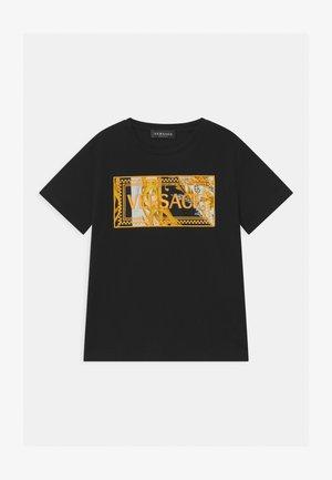 MAGLIETTA UNISEX - T-shirt imprimé - nero/oro