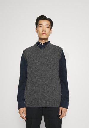 SLIPOVER - Stickad tröja - grey