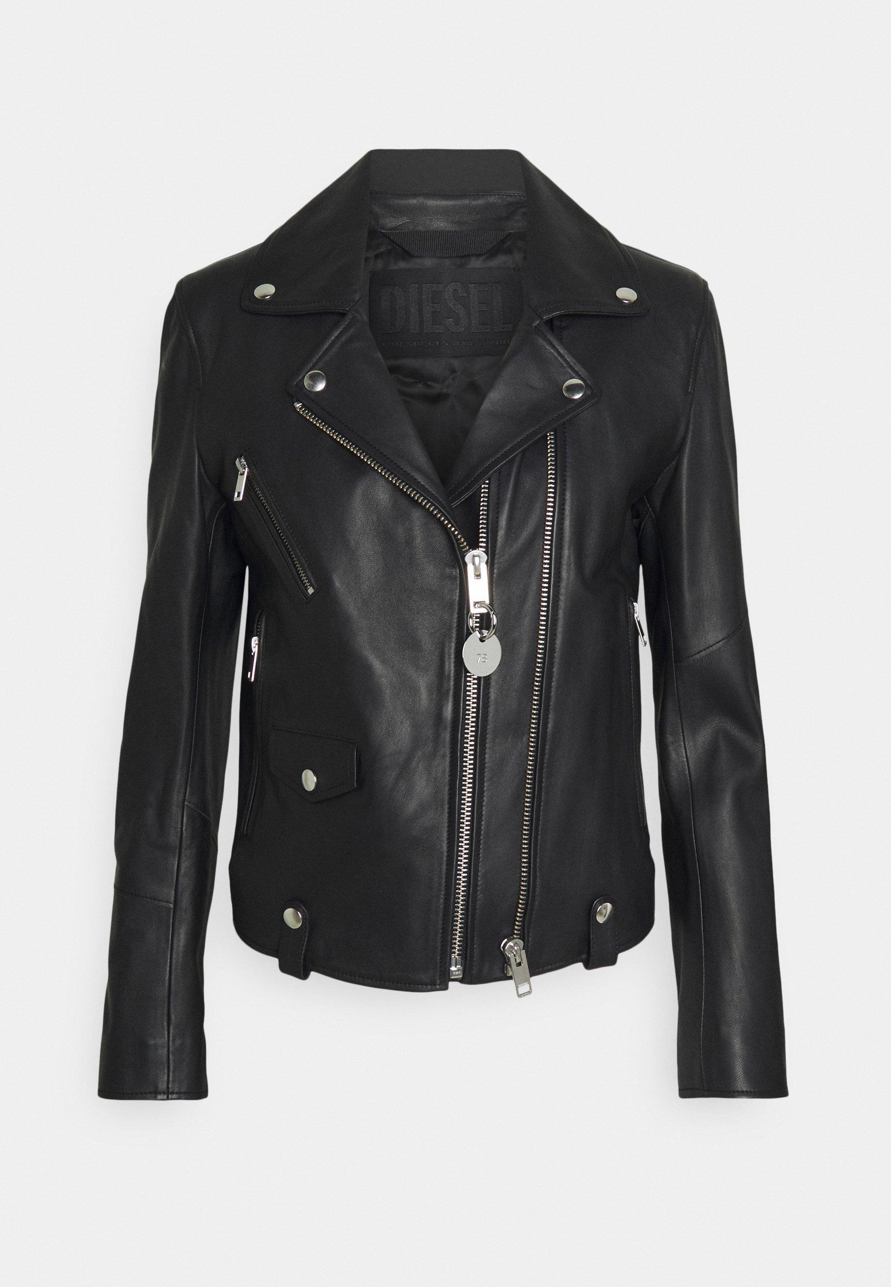 Femme L-LYFA - Veste en cuir
