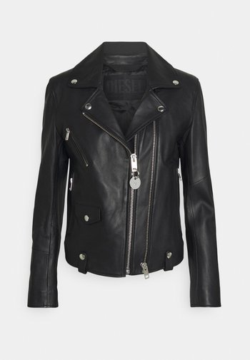 L-LYFA - Leather jacket - black