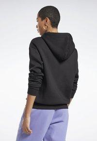 Reebok - MODERN SAFARI HOODIE - Sweater - black - 1