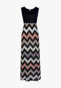 LASCANA - Maxi dress - schwarz-rose-creme-taupe - 0