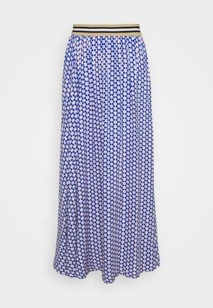 FORGET - Áčková sukně - blue